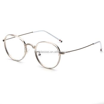 cdf2016763 2016 new optical frame model eyewear frame old school round eye glasses  frame men and women