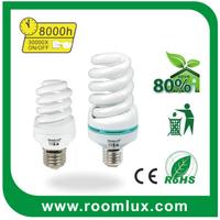New design t2 half spiral energy saving lights led the lamp energy-saving lights