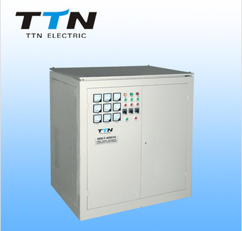 China Supplier TTN SBW-F 50kva avr 3 PHASE servo motor control AC automatic voltage stabilizer/regulator