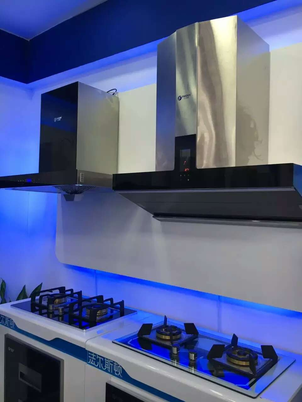 A50 2017 Selling Tempered Glass Kitchen Range Hood