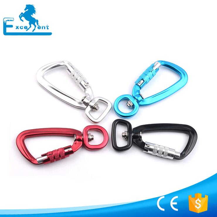 Putar Aviation Aluminium Carabiner Kait