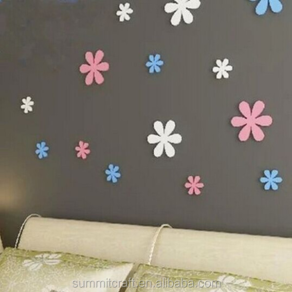 Wholesale 3d flower wall sticker baby wall stickers