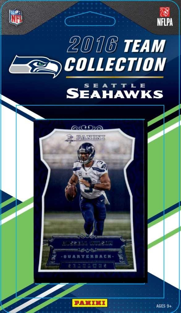 NFL Seattle Seahawks 2016 Donruss NFL Team Set - Seattle Seahawks, black, Small