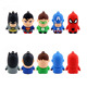Justice League Pendrive Superhero Cartoon USB Memory Stick Flash Drive For Promotion Gift