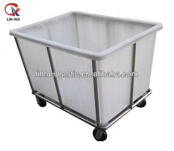 Large Pe Laundry Room Storage Container Buy Plastic Laundry Cart