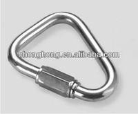 Stainless Steel AISI304/AISI316 Delta Shaped Quick Link