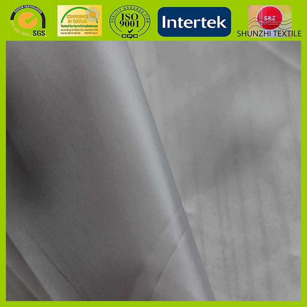 new 190T antistatic poly taffeta for lining or pocket fabric