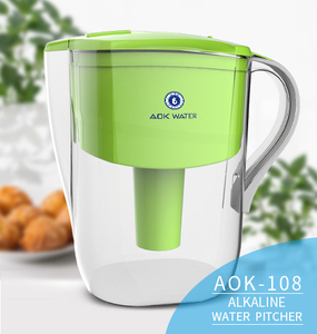 AOK 108A alkaline hydrogen rich water pitcher