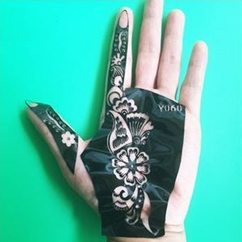 Henna Tattoo Kits For Sale: Wholesale Henna Cones Red Brown Black + 15 Stencils