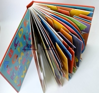 L board books ABC children book pop-up book
