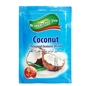 2019 Hot Sale Coconut Concentrate Flavor Fruit Juice Instant Powder Drink