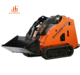 Mini Track Skid Steer Backhoe Loader With Attachments For Sale