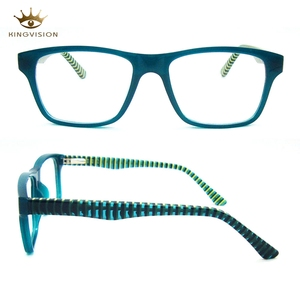 Chinese Eyewear Top Sale Colorful Acetate Style Women Fashion Optical Frame Eyeglass