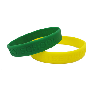 Glow In The Dark Embossed 2019 New Products Bracelet Brand Wristband Gummy Band Silicone Anti Mosquito Bracelets