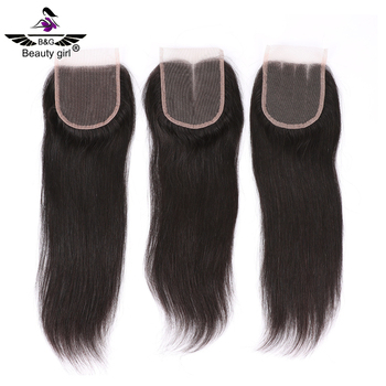 cheap wholesale price top virgin human hair Straight lace silk base mink brazilian closure with baby hair