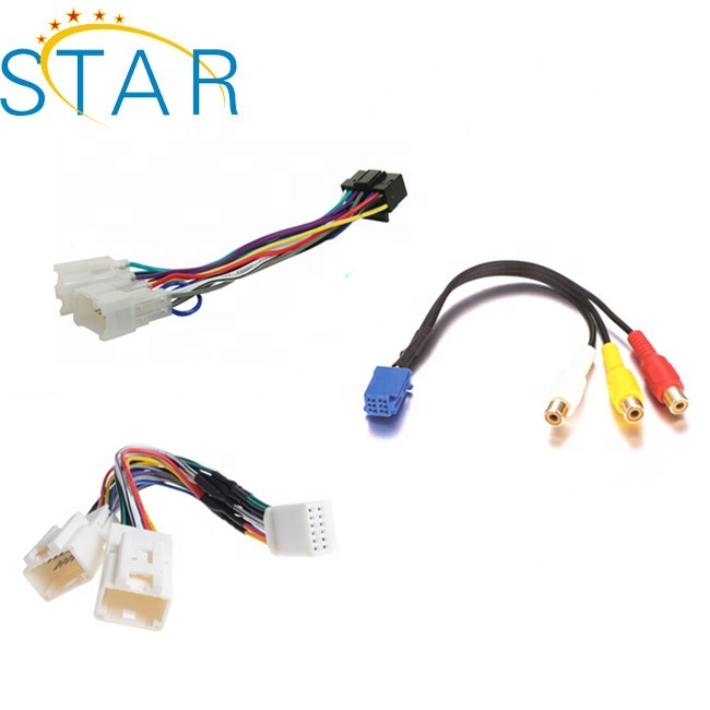 custom automotive iso audio wire harness for Toyota