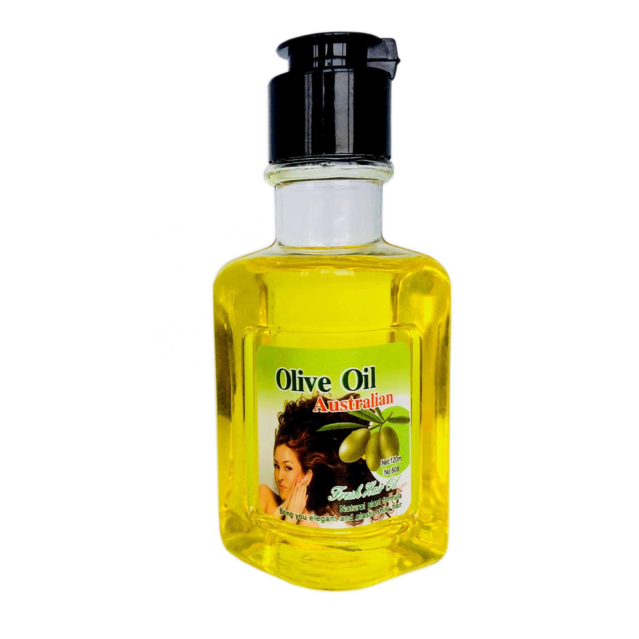 factory price 120ml fresh olive hair care oil