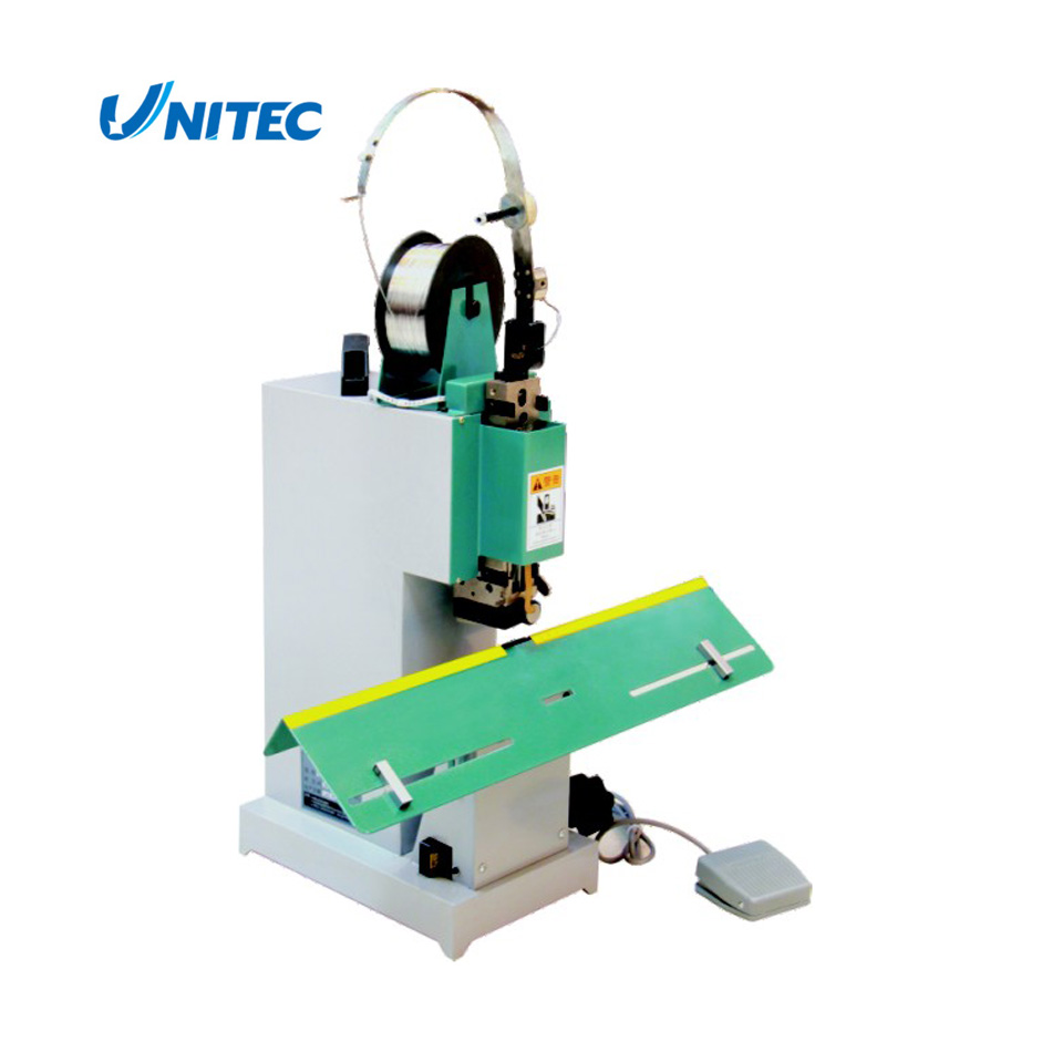 Single-Head Flat / Saddle Wire Stitching Machine