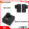 CE Rohs certificates as car dvr 4K high resolution action camera waterproof Extreme Sports camera
