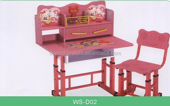 Wholesale Metal Studying Table And Chair,Metal Writing Table And ...