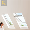 Bathroom toilet window design tempered glass aluminium center vertical pivot window awning for house roof