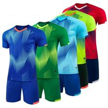 Kurzarm fußball trainingsanzug training jersey