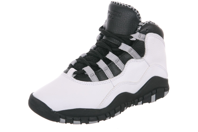 277928a000b4 Get Quotations · Nike Jordan 10 Retro (PS) Pre-School Kids Basketball Shoes  310807-103