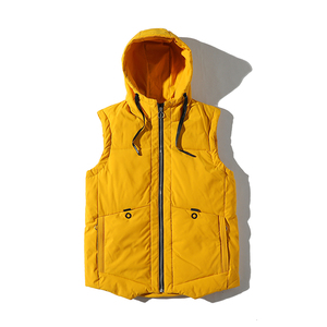 Competitive Price Mens Winter Lightweight Down Hooded Gilet Vest