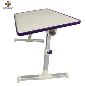 Laptop Bed Tray Table, Adjustable Laptop Table on Bed, Portable Standing Table with Foldable Legs