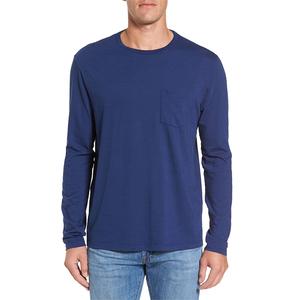 custom OEM slim fit t shirt design plain long sleeve t-shirts
