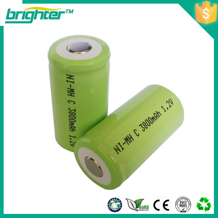 7 rechargeable c cell 12v nimh batteries