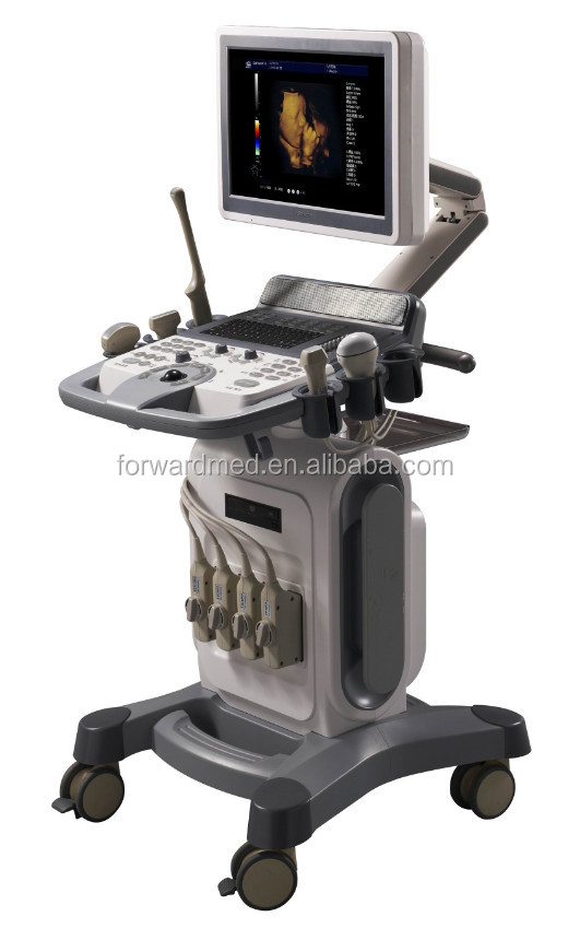 hot sales color doppler ultrasound scanner with convex,linear probe