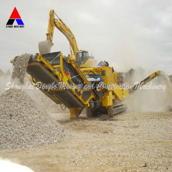 Mobile Crusher Plant Portable Crushing Equipment for Jaw Cone Impact Crusher