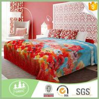 Good Quality Home Textile Use Printed Flannel sofa cover Fabric