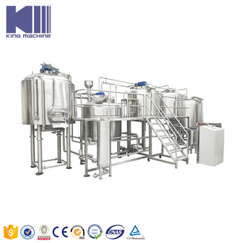 Hot sale automatic brewery with capacity 200 liter 500 liter brewery