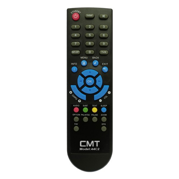 44 keys high quality best sansui tv remote control