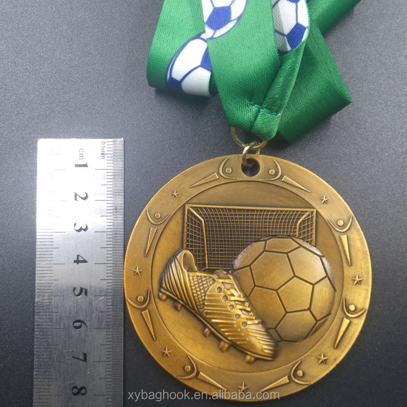 New products Antique Imitation Style Award Soccer Medal
