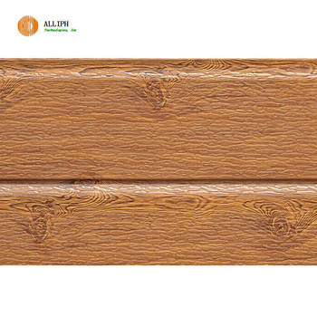 Wood Texture Exterior Wall Panel Decorative Pu Foam Sandwich