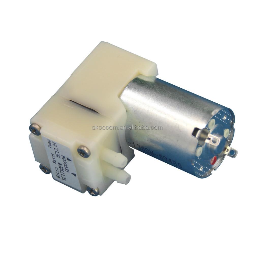Waterpomp 12 volt dc 12v dc mini motor waterpomp 120ml for Small 12 volt motors