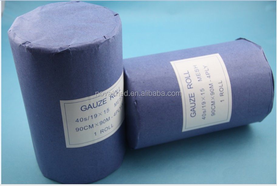 100% Cotton Absorbent Gauze Roll