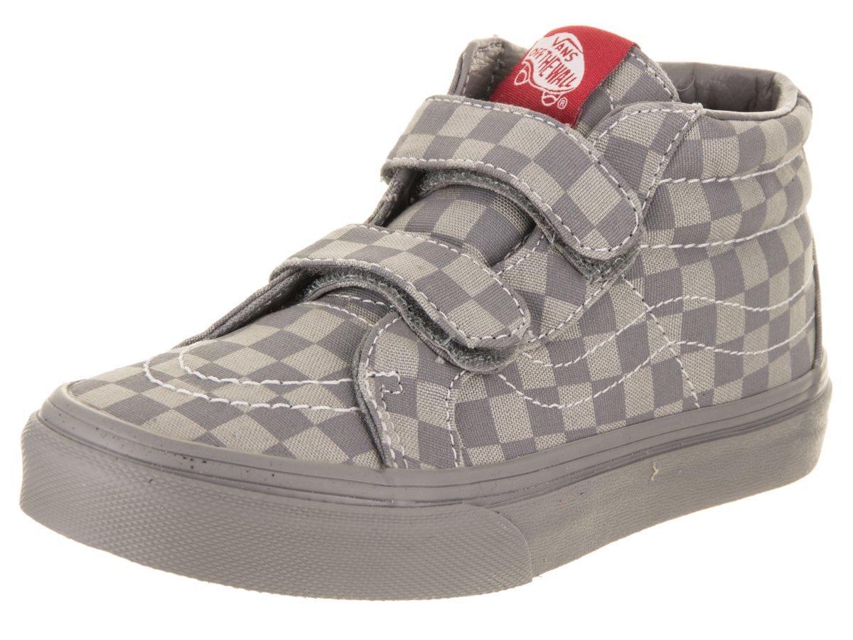 e3a9b3e2a523 Buy Vans Toddler Sk8-Mid Reissue V (Checkerboard) Skate Shoe in ...