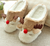 Indoor home fashion cute women slippers