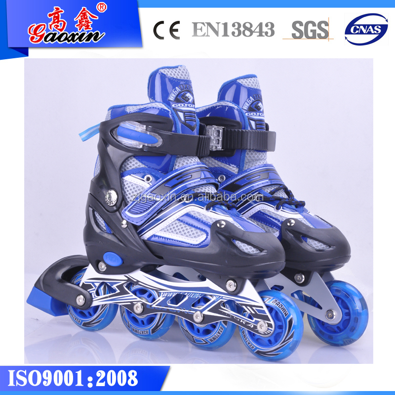 GOSOME Wholesale GX-9006 Outdoor Training Sports Shoes CE Approved Inline skate customized design roller skates
