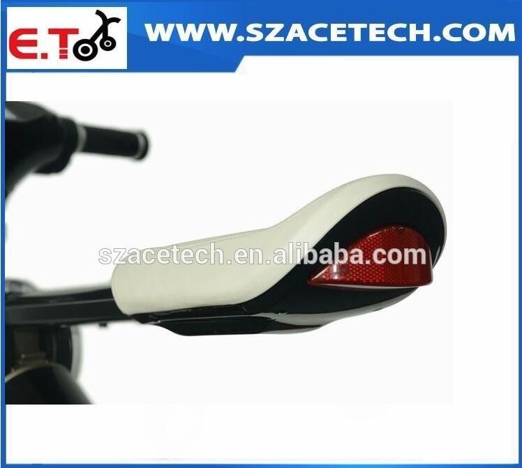 2017 New Exquisite LG Samsung Battery Shock Absorber Optional Two Wheels Electric Scooter Foldable