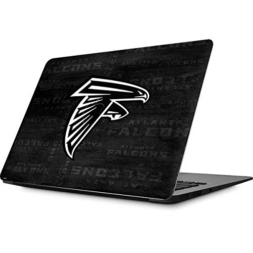 NFL Atlanta Falcons MacBook Air 13.3 (2010/2013) Skin - Atlanta Falcons Black & White Vinyl Decal Skin For Your MacBook Air 13.3 (2010/2013)