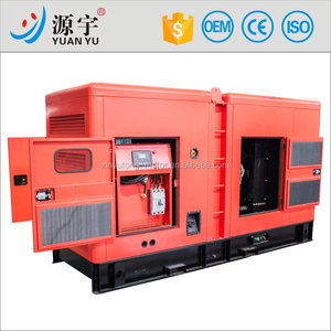 250KVA 200KW Silent Type Diesel genset powered with Copper brushless alternator