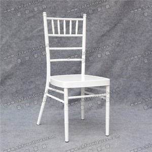 YC-A20-5 Stackable metal tiffany chiavari wedding chair rentals with cushion