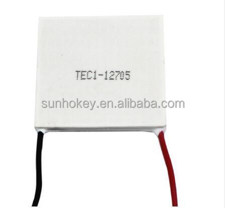 12V TEC1-12705 Heatsink Thermoelectric Cooler Peltier Cooling Plate Module