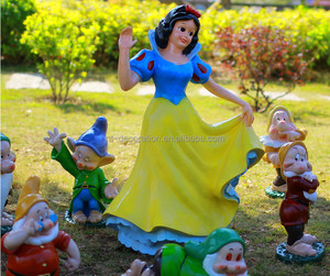 life size resin sculpture Snow White and the Seven Dwarfs statue NTRS-CS437R