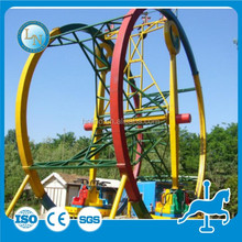 Quality Approved! outdoor amusement fairground park Giant thrilling family Game ride Ferris Ring Car